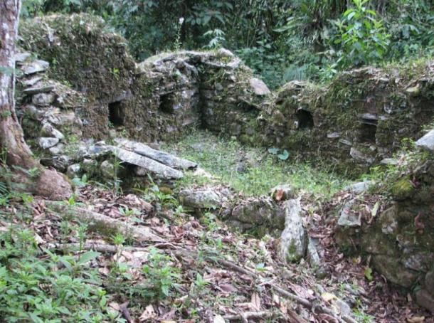 Espiritu Pampa Inca ruins, a pre-Inca and Inca archaeological site located in the district of Vilcabamba that could be related to the newly discovered enclosures and burials.
