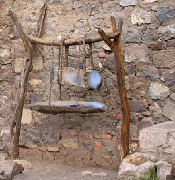 Ethiopian Lithophones with Stand, Monastery of Na'akuto La'ab.