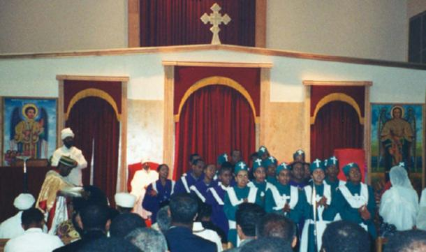 Ethiopian Orthodox choir