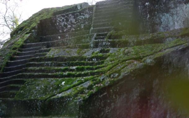 Etruscan Pyramid of Bomarzo. Source: Alessio Russo / Adobe Stock.
