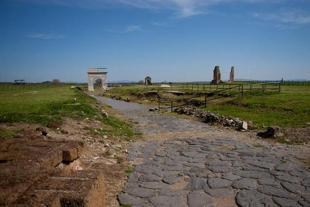 The Etruscan city of Vulci.