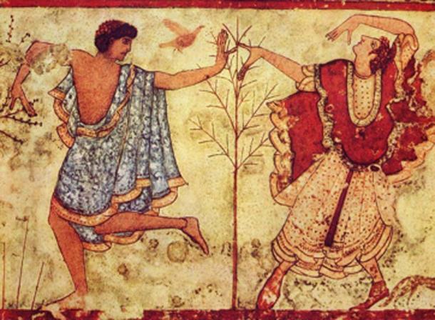 Etruscan dancers, 470 BC. (Eloquence / Public Domain)