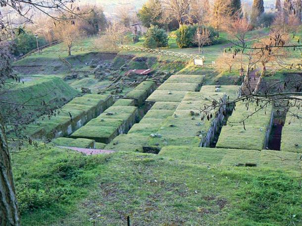 The Etruscan necropolis