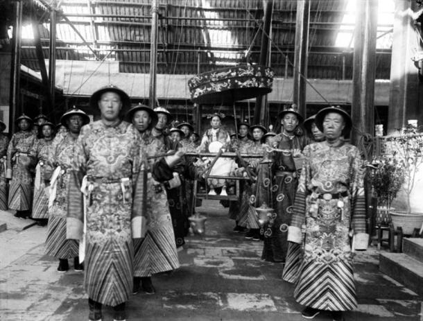 Eunuchs from the Qing dynasty