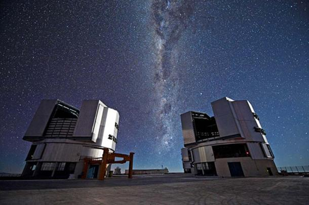 The European Southern Observatory's Very Large Telescope (VLT) in the Chilean Atacama Desert