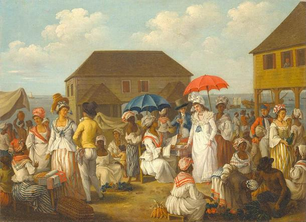 European colonizers influenced traditional models of Caribbean history. (DcoetzeeBot / Public Domain)