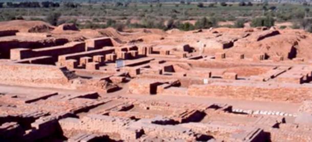 Evidence suggests Rakhigarhi was a major Harappan city center. (Homeric Origins / YouTube)