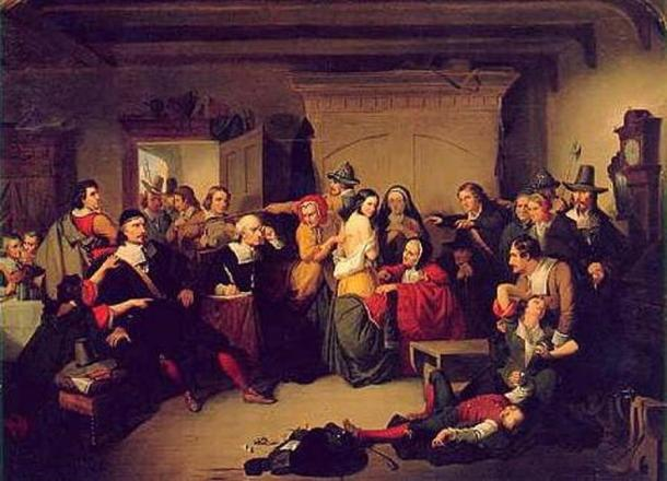 'Examination of a Witch' by T. H. Matteson. (Public Domain)
