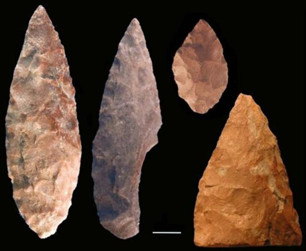 Example of African Stone Ag Tools (Photo by Christopher Henshilwood, University of the Witwatersrand)