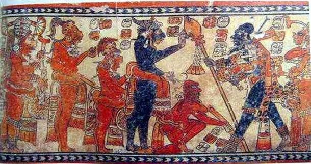 Example of Maya art – on Chama style vessel. (Public Domain)