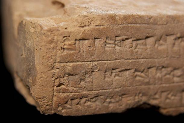 Example of Mesopotamian Cuneiform tablet. (CC BY-SA 2.0)