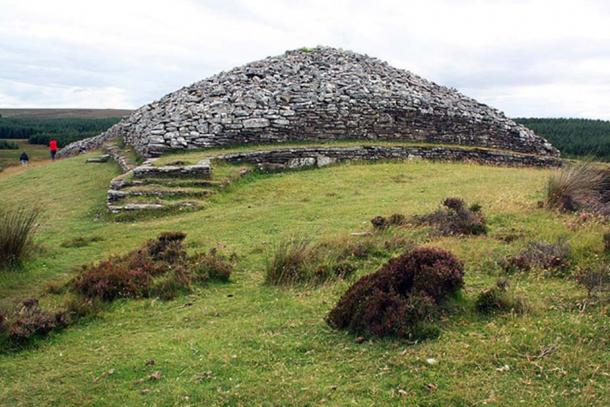 Example of a Neolithic burial cairn at Camster, Caithness, Scotland.