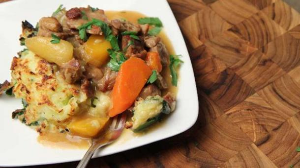 Example of a lamb stew with vegetables. (Jo del Corro/CC BY 2.0)