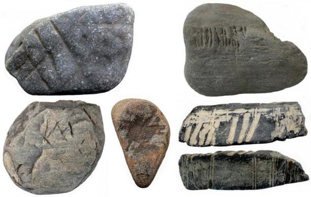 Examples of portable rock art. (Author provided)