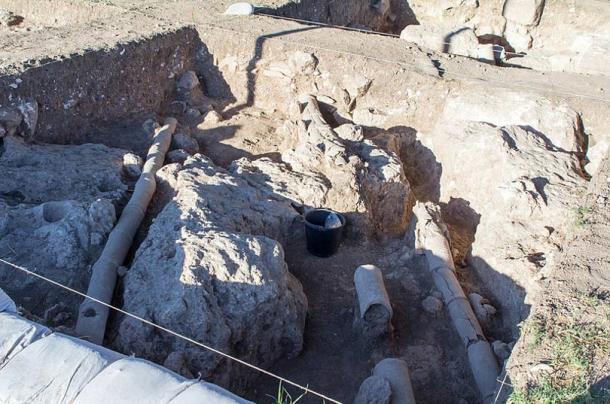 Excavation of Legio VI Ferrata camp near Megiddo.