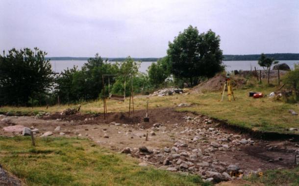 Excavation at Birka on the island of Björkö