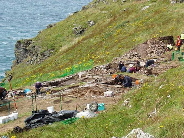 Excavation in August 2017. (Public Domain)