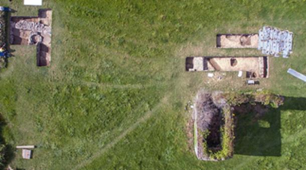 Excavation of the Norman Monastery is revealing a complex of ancillary buildings. (Beaubec Excavations / Fair Use)