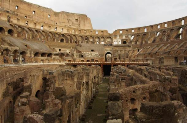 Excavations among the Colosseum ruins revealed that people had lived there years after it had stopped being used for gladiatorial battles.