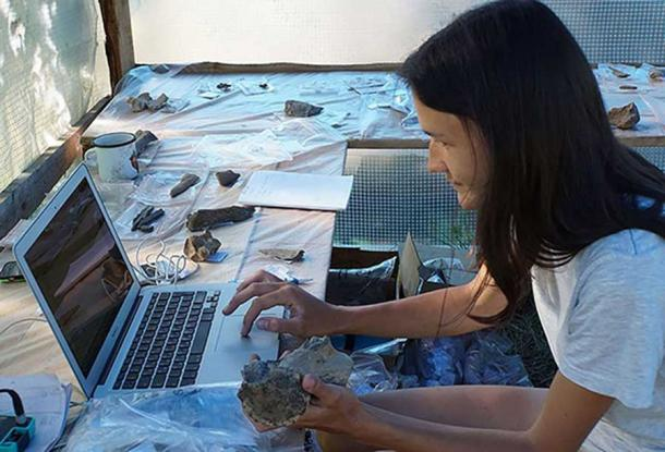 Excavations at Tuyana archaeological site. Image: Vesti.Irkutsk, Evgeniy Rogovskoi