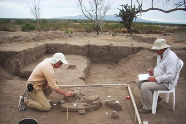 Excavations at the Real Alto site in Ecuador. (FEFU press office)