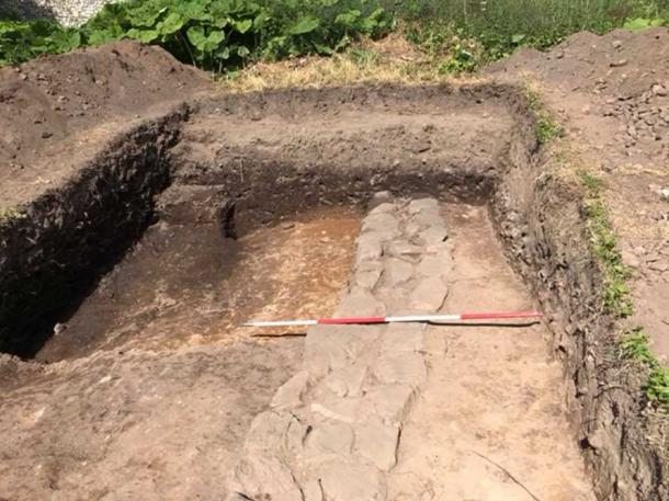 Excavations at the site. (The Book of Deer Project)