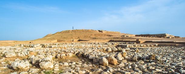 Excavations of Ebla in the desert of Syria. (siempreverde22 / Adobe)