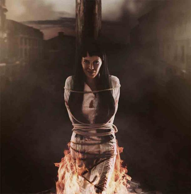 После того как инквизиция определило их как зло, чаще всего казнь происходила путем сжигания их на костре.
