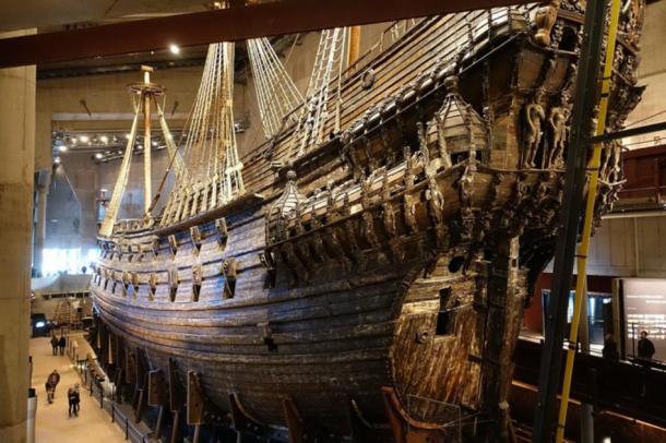 Exterior of Swedish warship the Vasa. (Alexey M. / CC BY-SA 4.0)