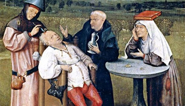 The Extraction of the Stone of Madness by Hieronymus Bosch.