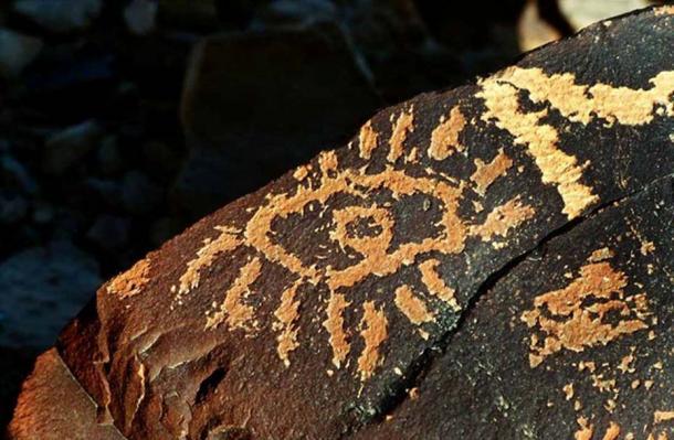 Negev 'Eye of God' petroglyph