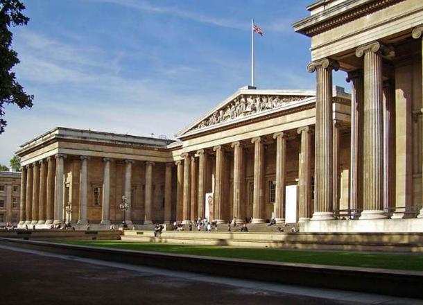 Façade of the British Museum.