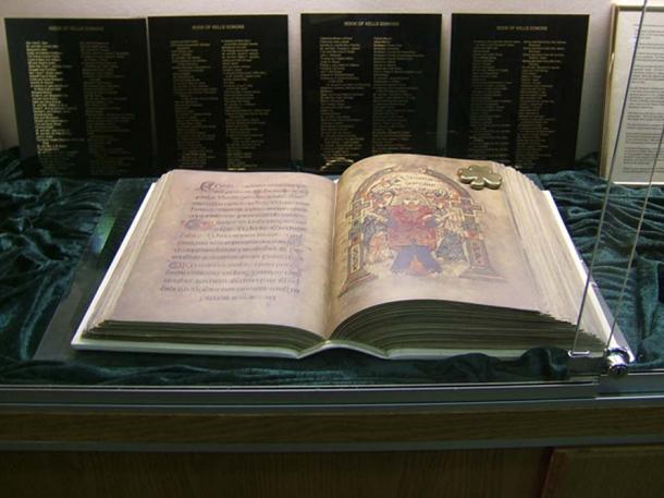 Facsimile copy of the Book of Kells