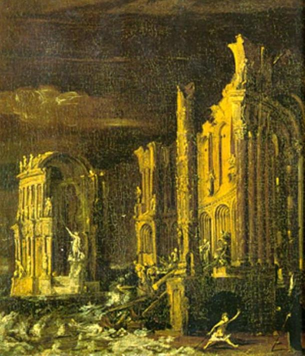 The Fall of Atlantis, Monsu Desiderio