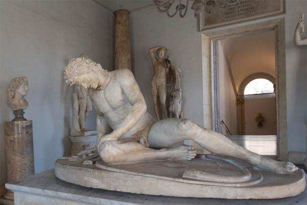 Famous Dying Gaul statue in Capitoline Museum, Rome (Natalia Bratslavsky / Adobe Stock)