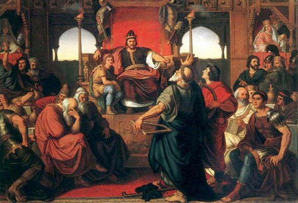 'Feast of Attila' (1870) by Mór Than.