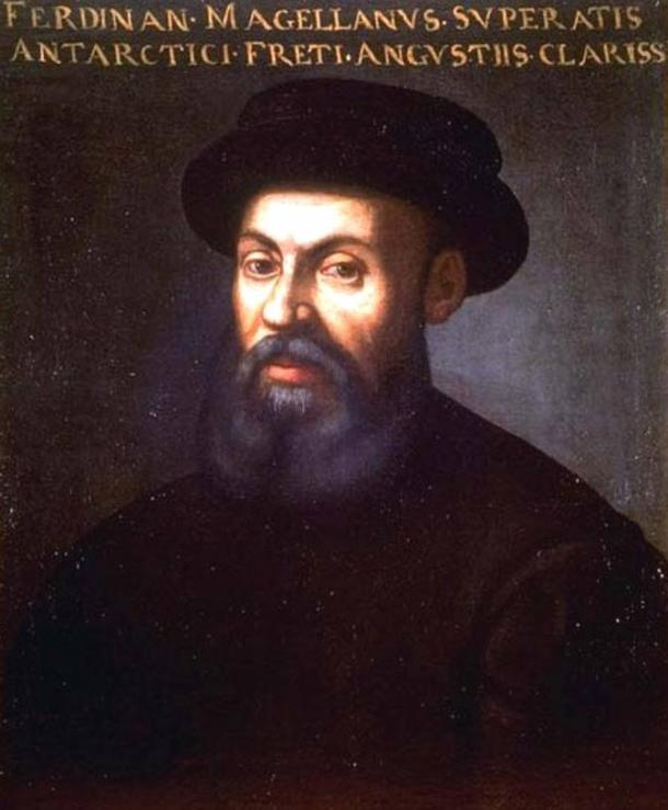 An anonymous portrait of Ferdinand Magellan, 16th or 17th century.