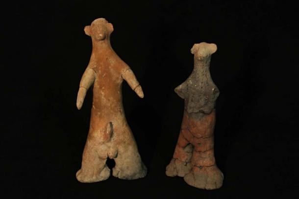 Fertility figurines found at Schroda in southern Africa. Ditsong National Museum of Cultural History, Author provided