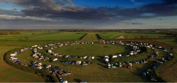Festival at Thornborough Henges, 2013