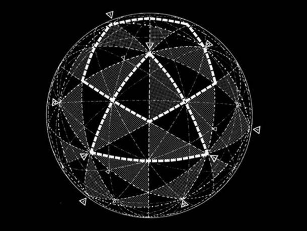 Figure 12. Un système de géométrie uniforme développé par Keith Critchlow