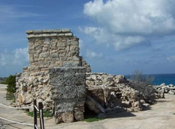 Figure 6. Shrine of Ix Chel on Isla Mujeres, sacred pilgrimage island near Cozumel. Photo by author, 2009.