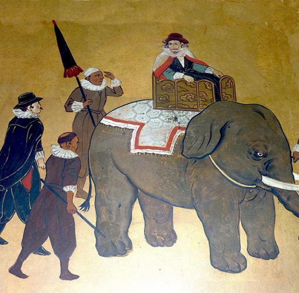 Filipe de Brito, Portuguese mercenary and governor of Syriam, Burma, circa 1600.