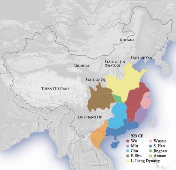 Five Dynasties Ten Kingdoms Period 923 CE.