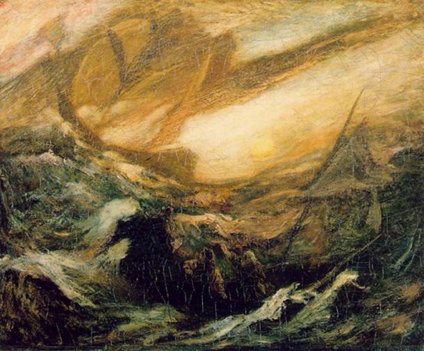 The Flying Dutchman by Albert Pinkham Ryder
