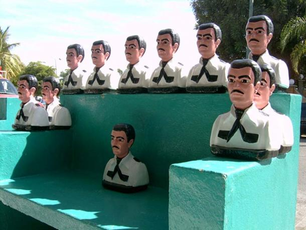 Folk saint Jesús Malverde was said to be a bandit that stole from the rich to give to the poor.