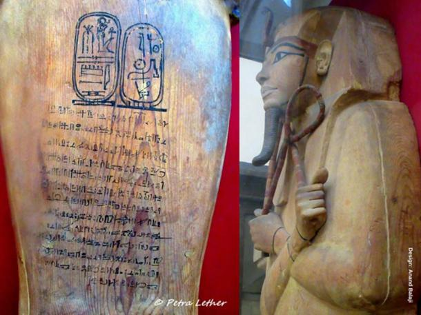 For all the pomp and regal authority he exercised, Ramesses the Great was ultimately laid to rest in a simple cedar wood coffin. Hieratic inscriptions on the lid document the number of times his mummy was restored and moved from its original resting place, KV7. Egyptian Museum, Cairo. (Images courtesy of Petra Lether)