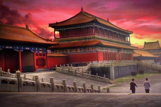 The spectacular Forbidden City