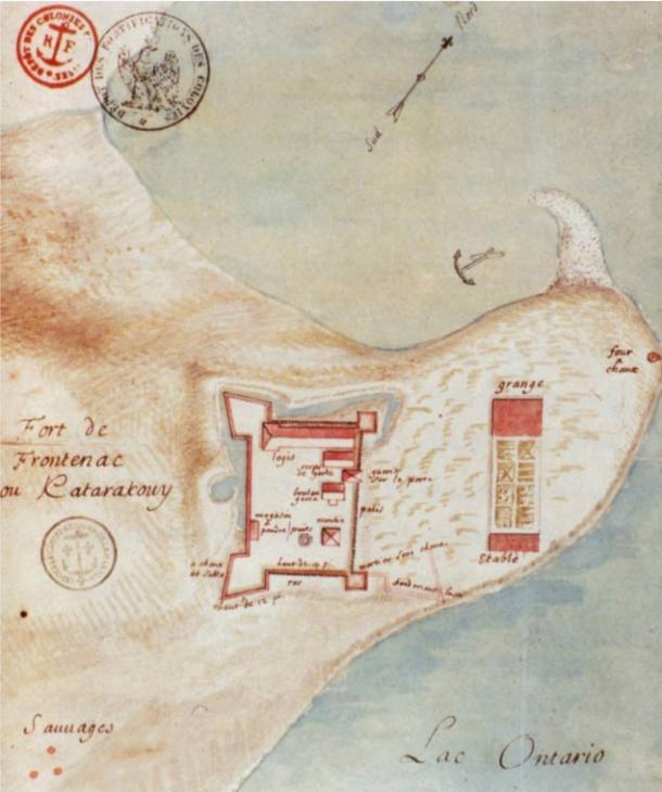 Fort Frontenac at Cataraqui, 1685