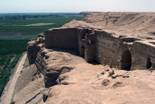 Fortificaciones en Dura-Europos, Siria