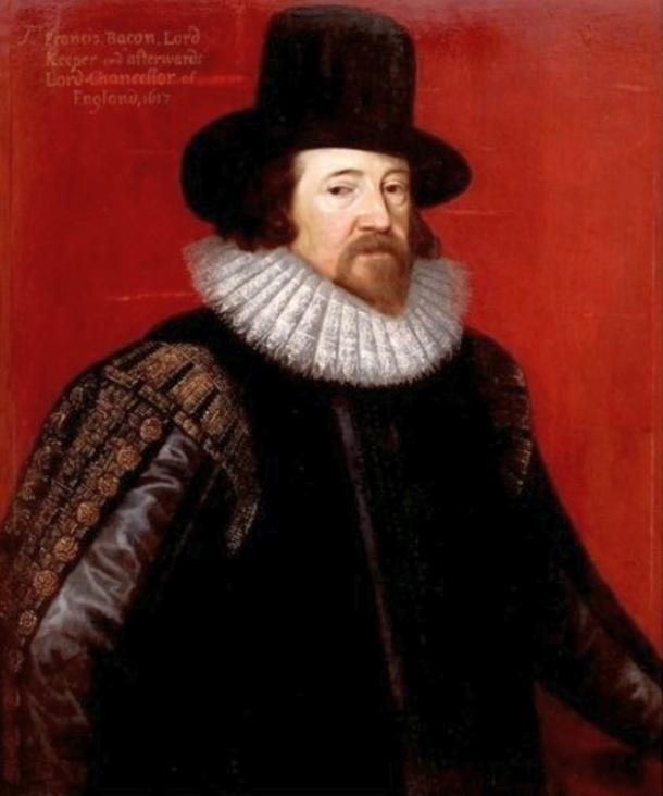 Frans Pourbus the younger, Sir Francis Bacon is also said to be an incarnation of Saint Germaine. By Artist Paul Van Somer, 1616. Held at the National Portrait Gallery.